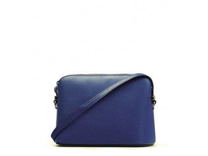 Kožená kabelka Violeta modrá