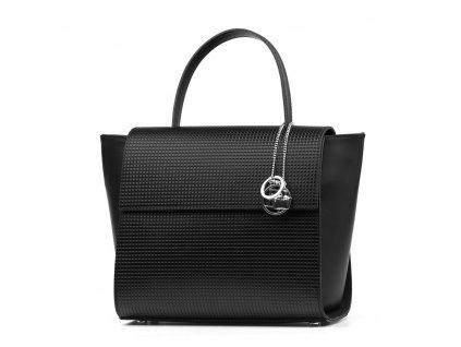 Kožená kabelka Tisbe černá