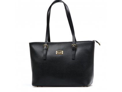 Kožená kabelka Raisa černá