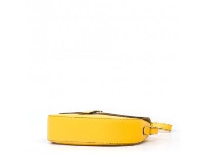 Kožené crossbody Annis žluté