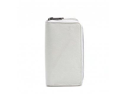 Kožená peněženka Pety bílá