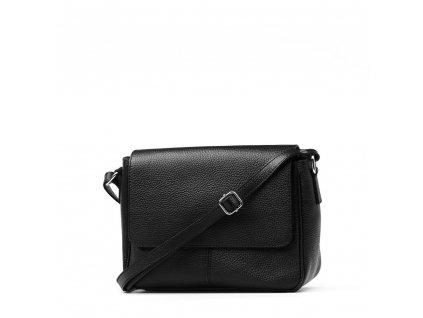 Kožená crossbody kabelka Marion černá