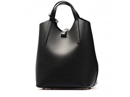 Kožený batůžek Lima černý