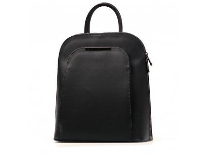 Kožený batůžek Ulma černý