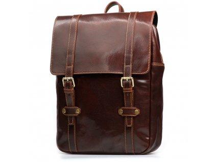 Pánský kožený batoh Zulio hnědý