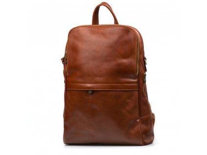 Pánský kožený batoh Matteo hnědý