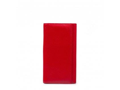 Kožená peněženka Mona červená