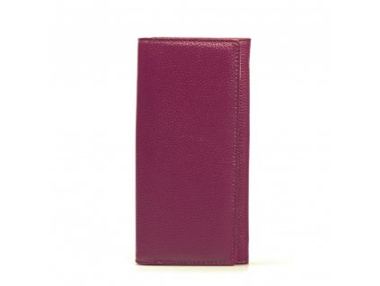 Kožená peněženka Karin fialová