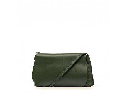 Kožená kabelka Filly zelená