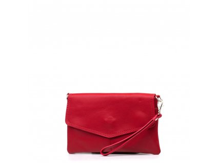 Kožené psaníčko Diana červené