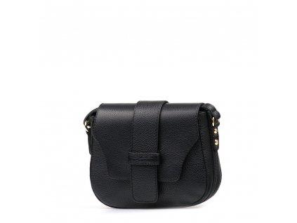 Kožená crossbody kabelka Arden černá