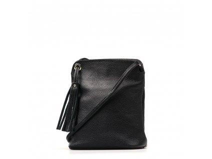 Kožená crossbody kabelka Nala černá