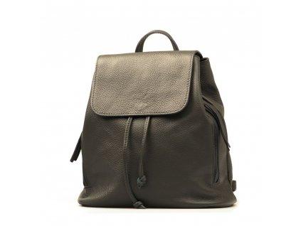 Kožený batůžek Guilio tmavě šedý