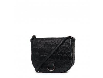 Kožená crossbody kabelka Ania černá