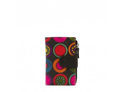 Kožená peněženka s motivem Pati černá
