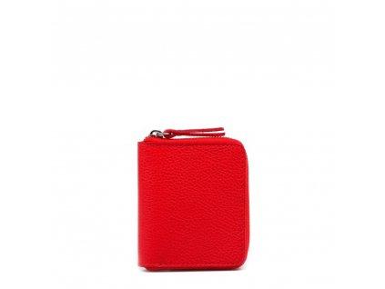Dámská kožená peněženka Privela červená