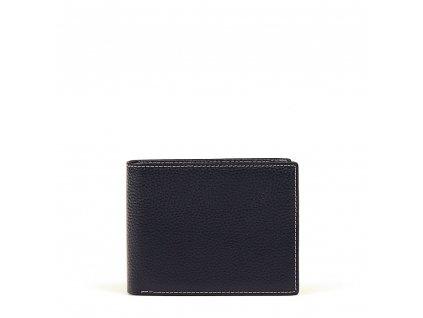 Pánská kožená peněženka Tomma tmavě modrá