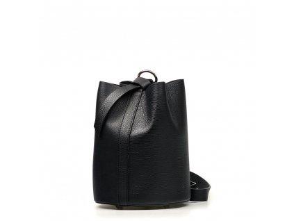 Kožená kabelka Juliette černá