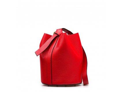 Kožená kabelka Juliette červená