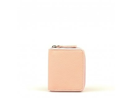 Dámská kožená peněženka Privela růžová