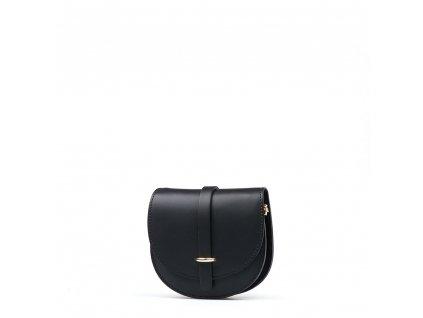 Kožená kabelka Gerda černá