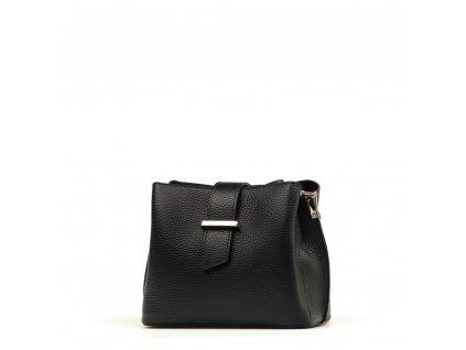 Kožená kabelka Margo černá