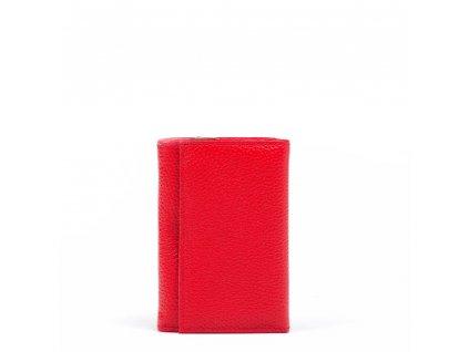 Dámská kožená peněženka Elia červená