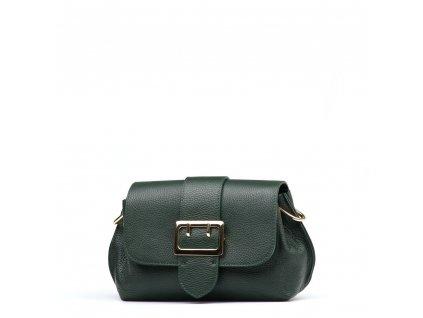Kožená kabelka Maite zelená