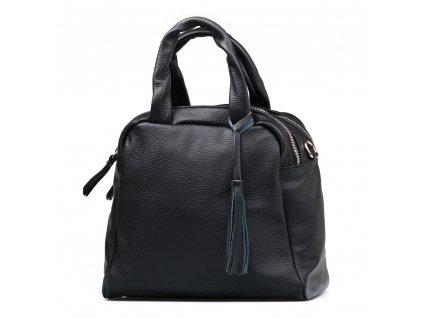 Kožená kabelka Liliane černá