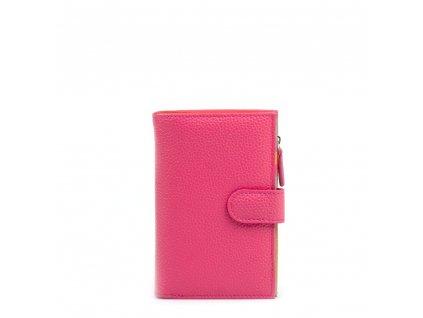 Dámská kožená peněženka Catrina růžová