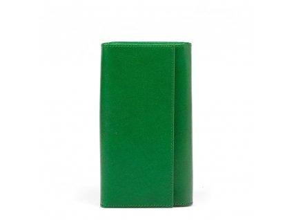 Kožená peněženka Nancy zelená