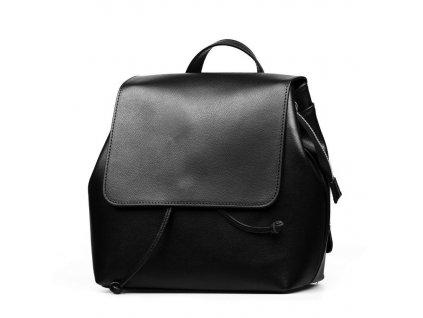 Kožený batůžek Gery černý