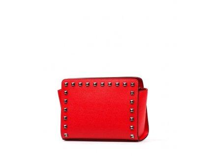Kožená kabelka Tinna červená