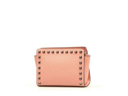Kožená kabelka Tinna růžová