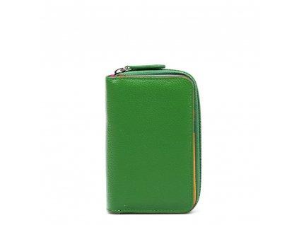 Kožená peněženka Juta zelená