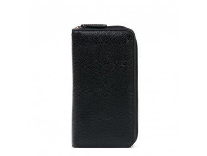 Kožená peněženka Jenny černá