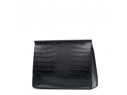 Kožená kabelka Alisia černá