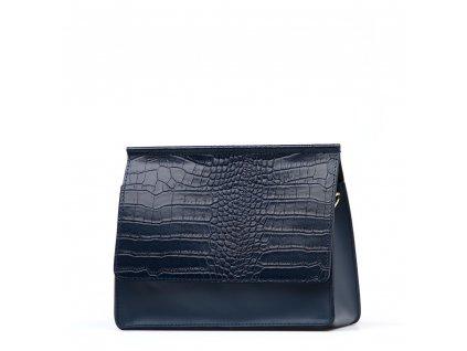 Kožená kabelka Alisia modrá