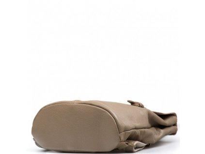 Kožený batůžek Clea fango