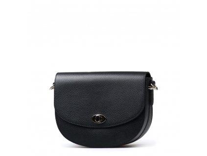 Kožená kabelka Sara černá