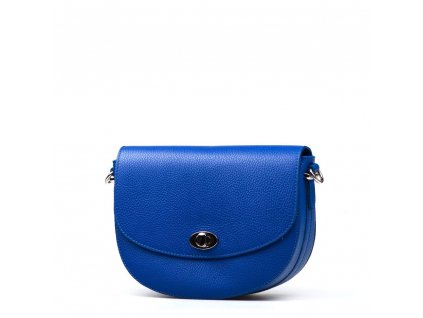 Kožená kabelka Sara modrá