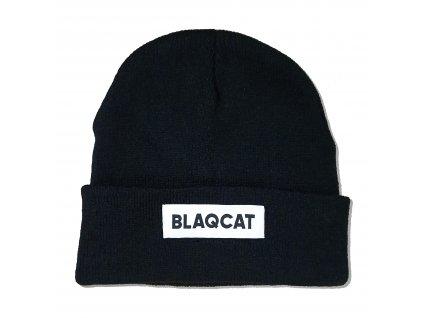 Cierna čiapka Blaqcat
