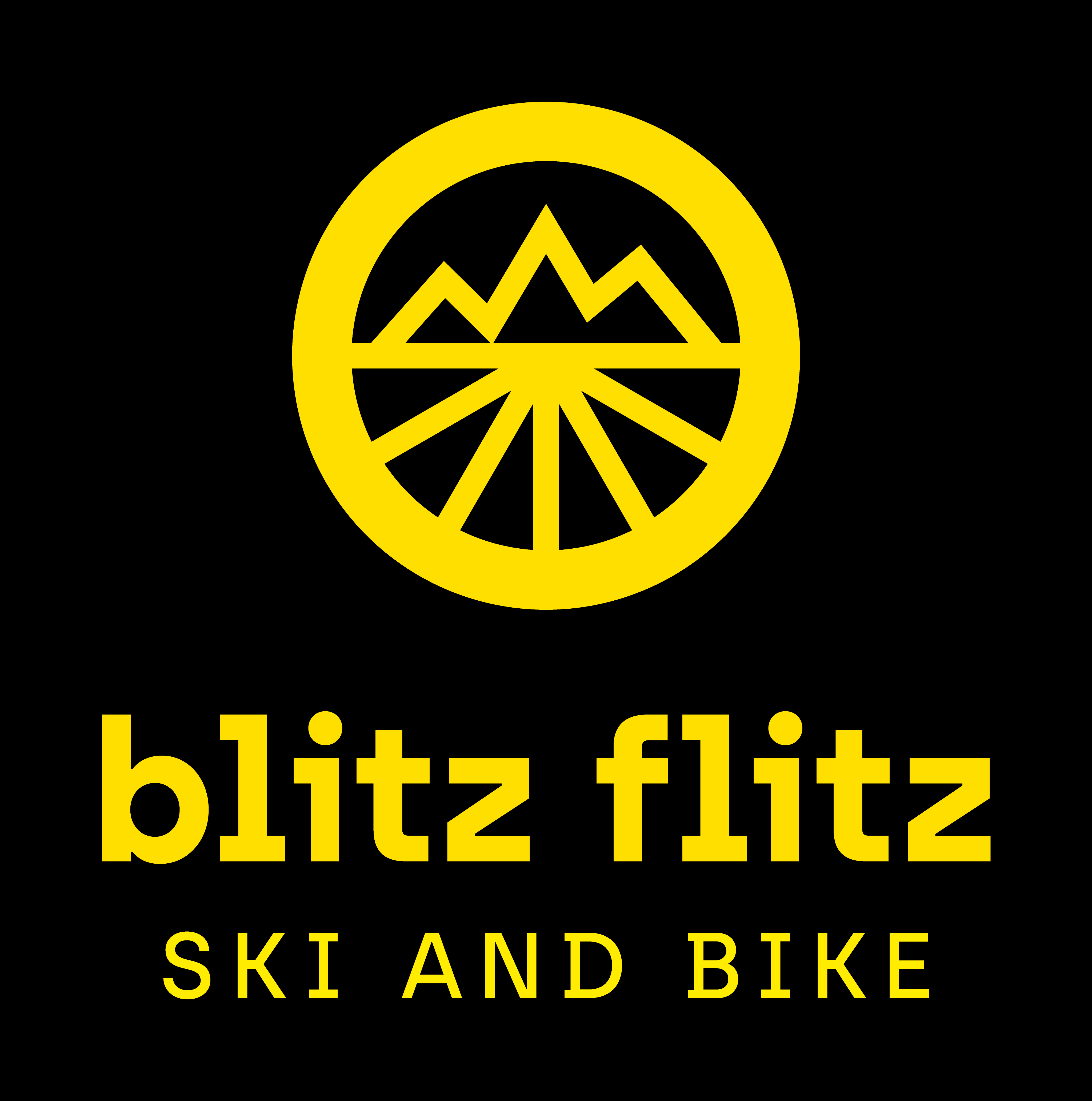 BLITZ FLITZ ski and bike