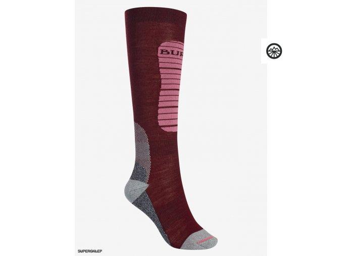 Ponožky BURTON WB MERINO PHASE SK SANGRIA