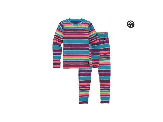 Funkční prádlo YOUTH FLC SET MIJITA STRIPE
