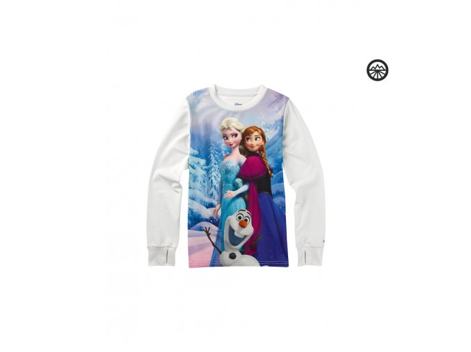 BURTON YOUTH FLEECE TEE FROZEN L