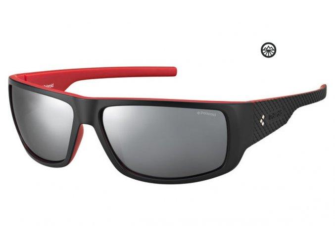 Slun. brýle POLAROID P8443 blck/pol. grey red