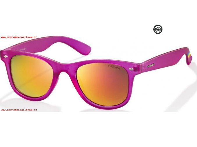 Slun.brýle POLAROID 6009/N M brght pnk/pol. gr pnk