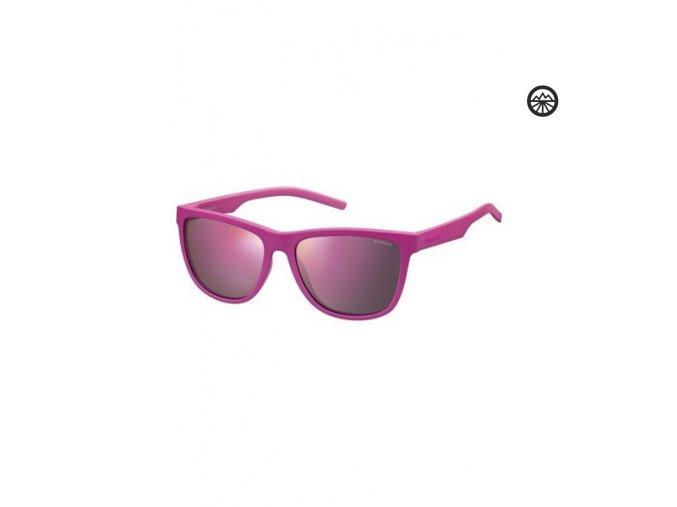 Slun.brýle POLAROID 6014/S drk pnk/pol. gr pink