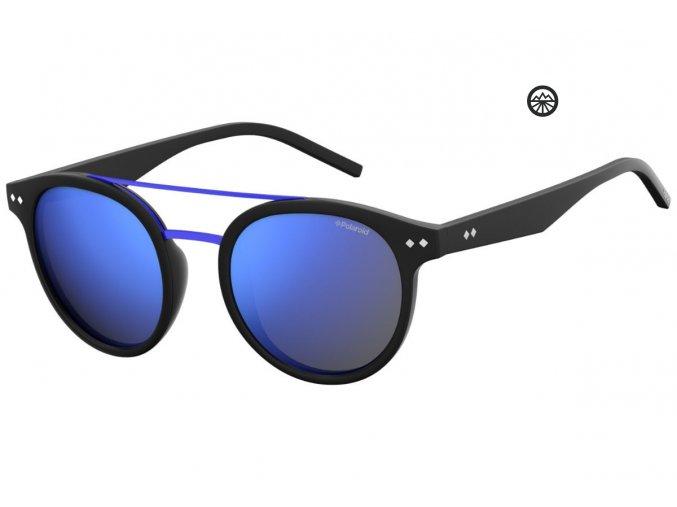 Slun.brýle POLAROID 6031/S matt blck/pol. Blue